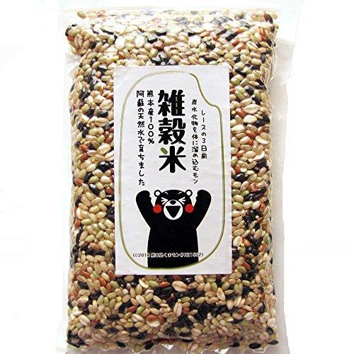 ・内容量:500g ・原材料:黒米・赤米・緑米・発芽玄米・押し麦・ひえ・きび・あわ(熊本県菊池産)