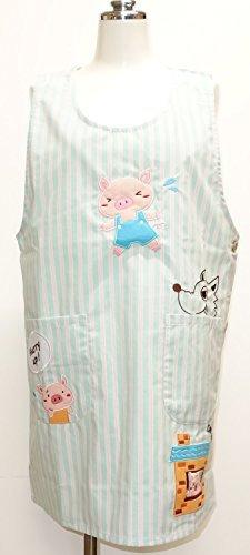 タイプ:ラン型 ポケット:2つ(サイド) 素材:綿×ポリエステル サイズ:身丈80㎝・横幅53㎝
