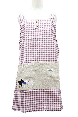 タイプ:H型 ポケット:1つ(中央に大サイズ) 素材:レーヨン×麻 サイズ:身丈65㎝・横幅100㎝