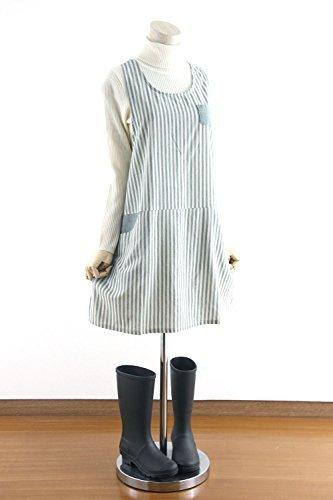 タイプ:ラン型 ポケット:2つ(サイドと胸) 素材:綿 サイズ:身丈85㎝・肩幅約30cm・バスト約104cm