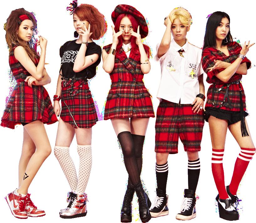 【少女時代の妹分】魅惑の5人組ガールズグループ『f(x)』におしゃれファッションを学ぶ!♡ | GIRLY F(x) Kpop Red Light