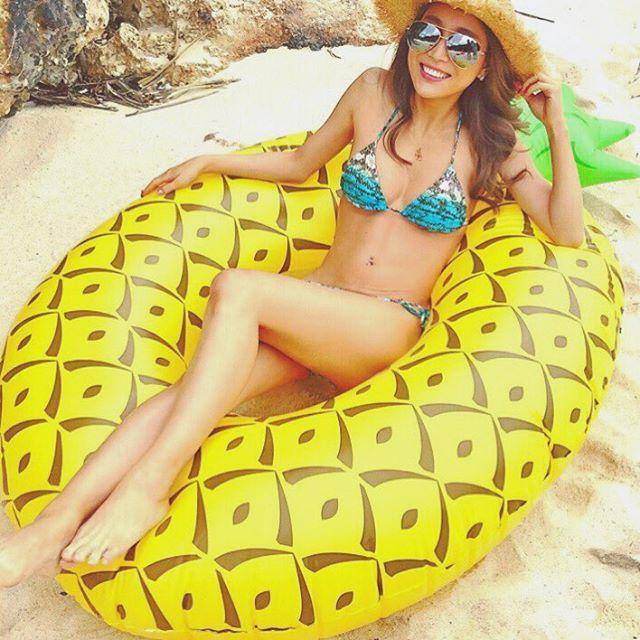 「パイナップル 浮き輪」の画像検索結果