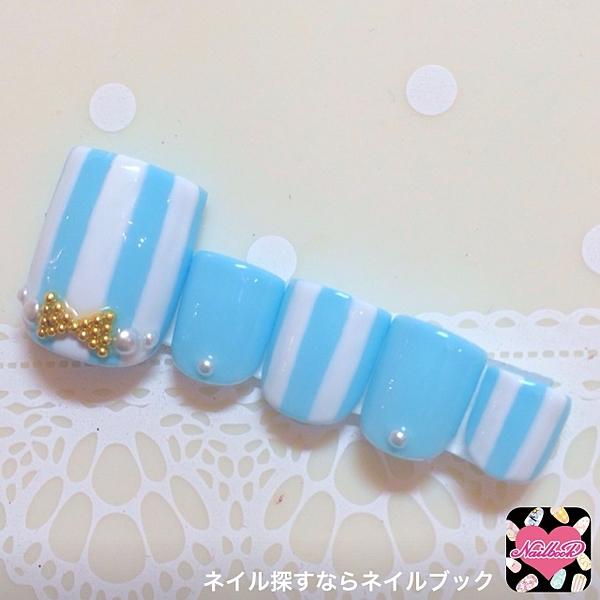 2015年夏♡おしゃれなフットネイル・ペディキュアデザイン