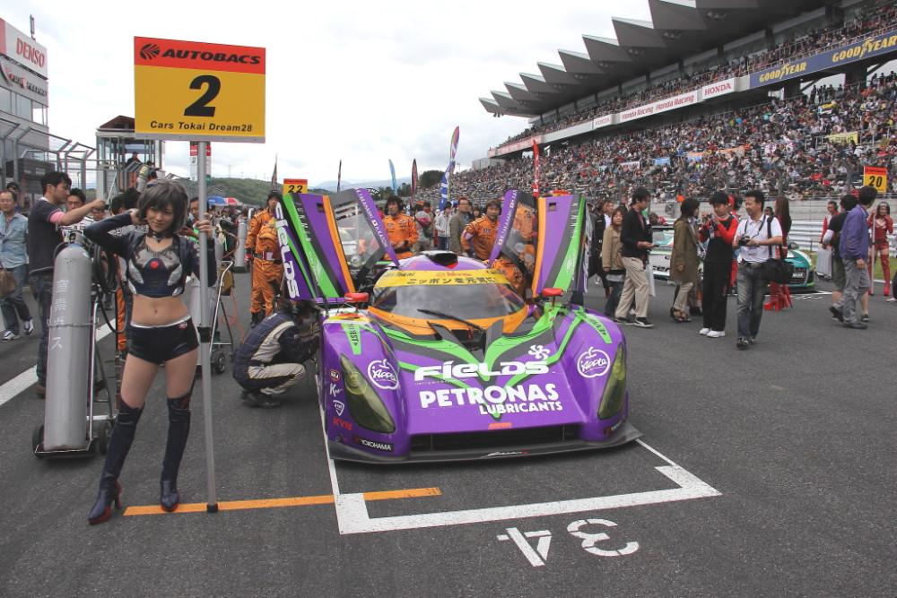 「2012年のエヴァ紫電 」Photo by Tomohiro Yoshita