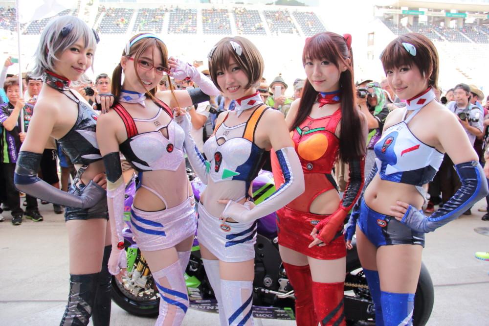 (2015年のエヴァRQ:鈴鹿8耐にて撮影)Photo by Tomohiro Yoshita