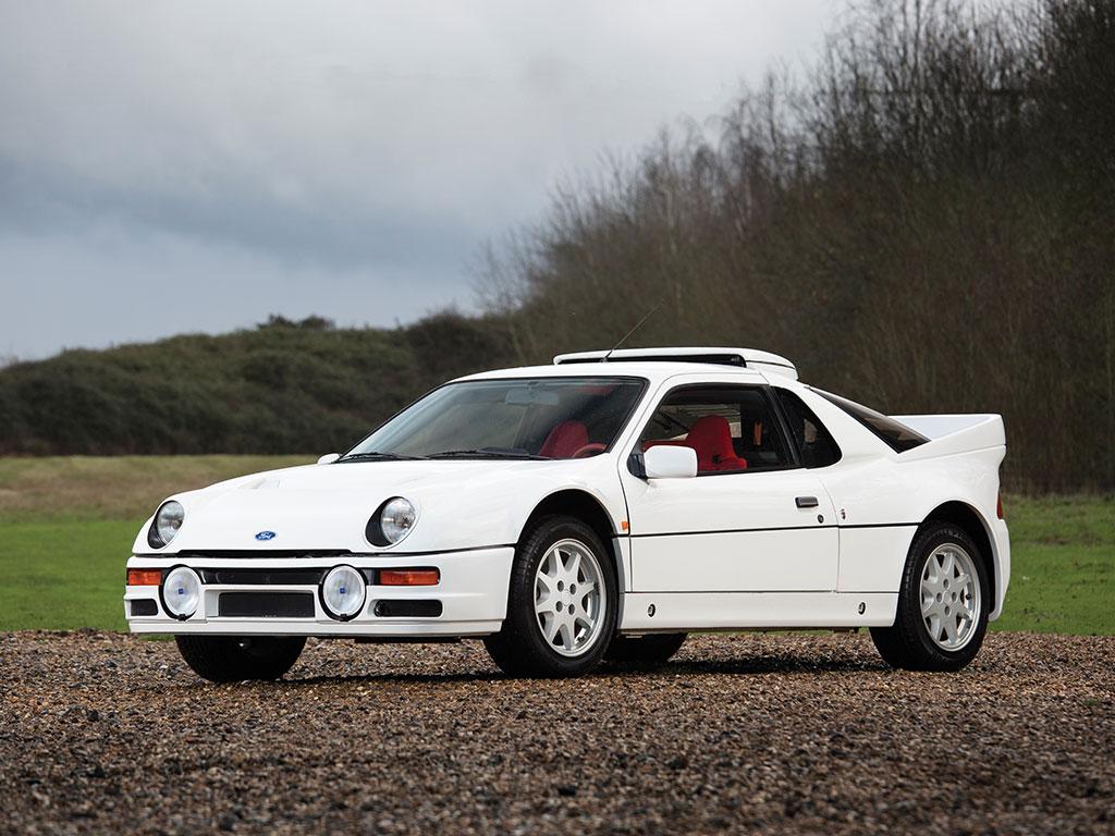 出典:http://www.autoevolution.com/news/ford-rs200-evolution-heading-to-amelia-island-auction-105082.html