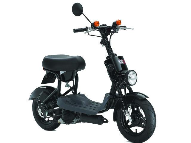 後に、チョイノリのスポーツモデル、チョイノリssも登場。(出典:http://www.suzukicycles.org/)