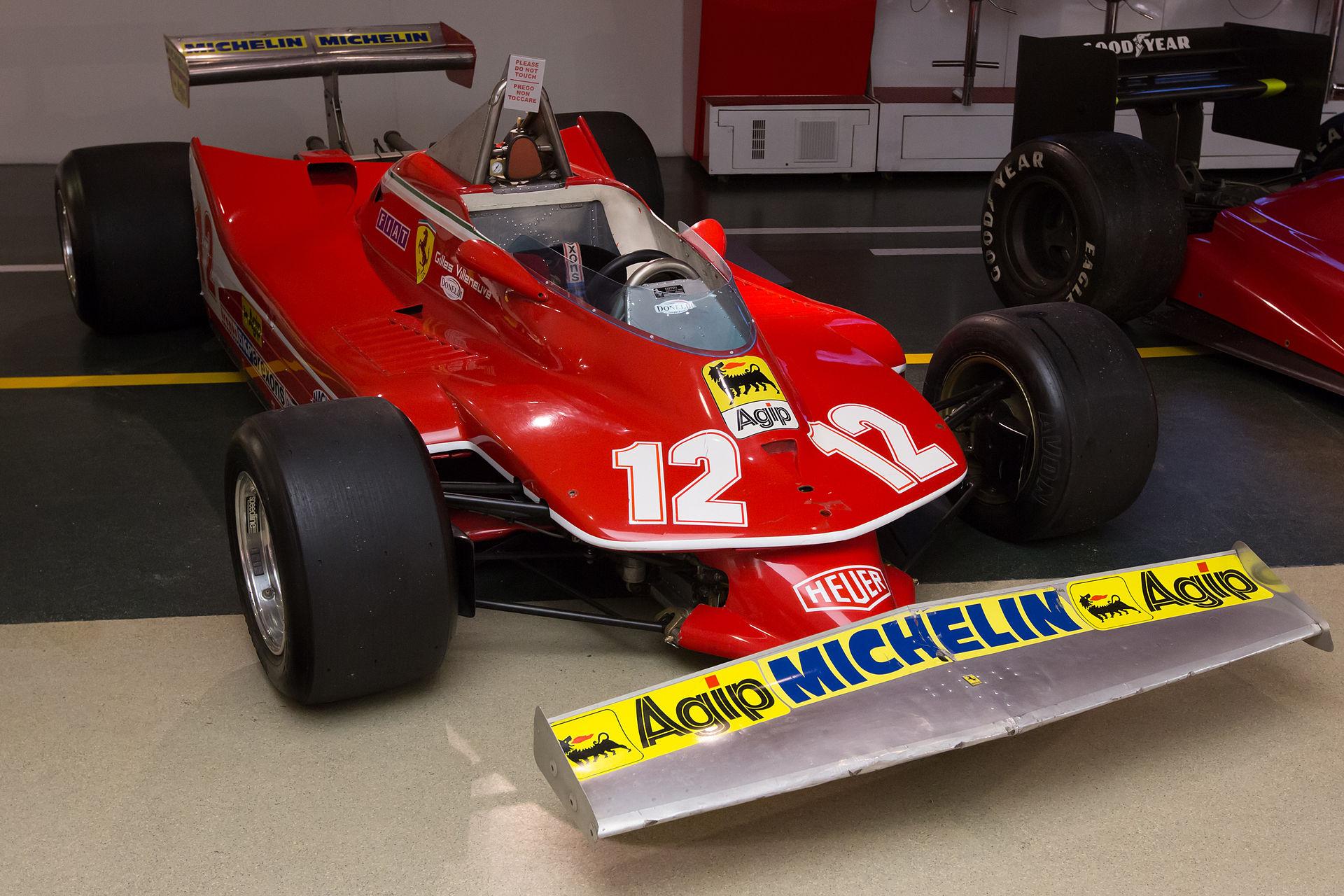 父:ジルが1979年に乗ったフェラーリ312T4(出典:https://ja.wikipedia.org/wiki/)