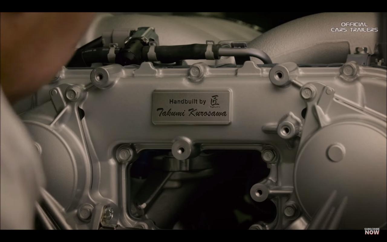 日産GTR匠エンジン