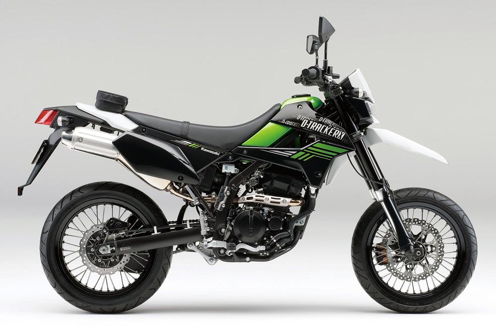 出典:http://www.greatbiker.com/honda-crf-250m-vs-kawasaki-d-tracker-x/