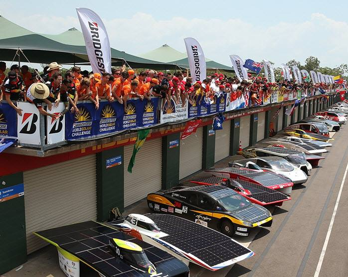 出典:https://www.facebook.com/WorldSolarChallenge/