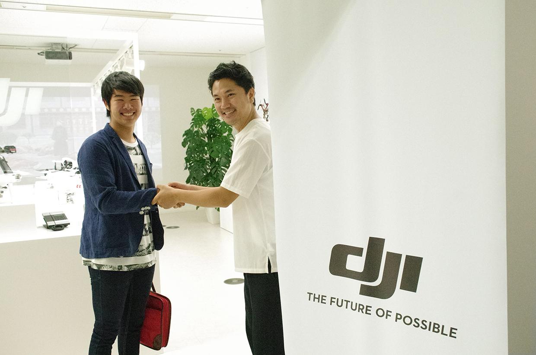 DJI JAPAN様×根本悠生