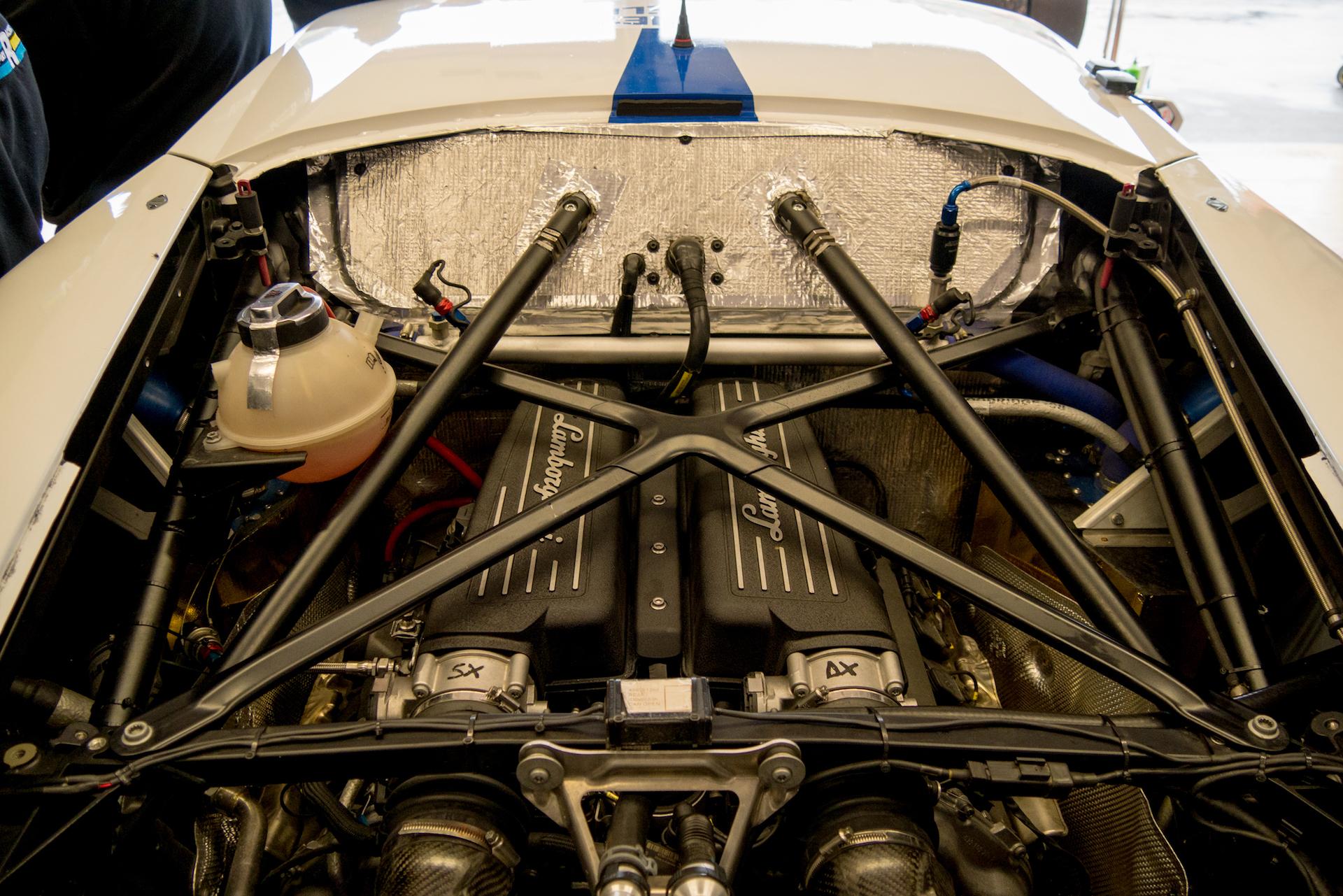 Lamborghini Huracan Engine