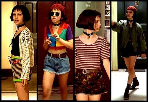 レオンのマチルダのファッション最高な。 http//t.co/NIJeuSItWG