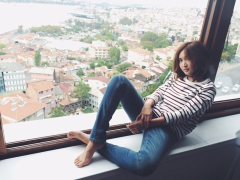 紗栄子のインスタ画像
