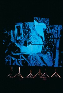 布魯斯米本《環境》,錄像裝置。
