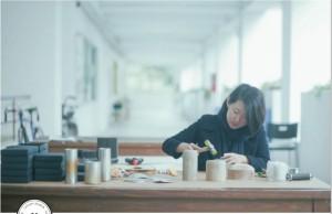 黃新雅手工打造錫製品,以器物打開使用者的五感體驗。