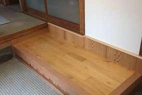 組み上がりました!床板は楓です。最後に自然塗料のクリアで仕上げます。