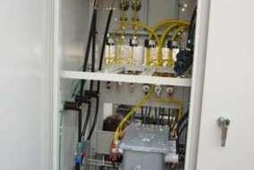 この後、電力会社に依頼し、高圧電線の引込作業をします。