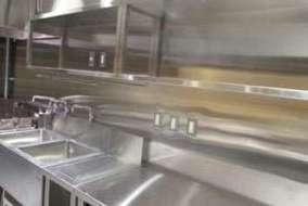 厨 房 配線仕上げ写真