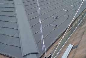 屋根ふき替え工事 施工後