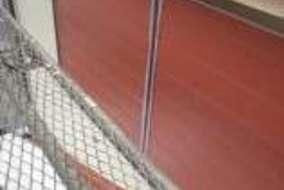 鉄部は防錆処理塗装をしてからの仕上げ塗装になります