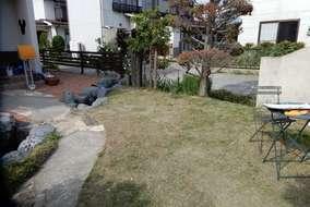 お手入れされた優しい雰囲気のお庭。
