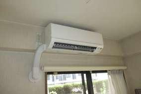寝室新エアコン