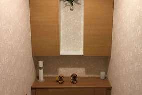 トイレは収納抜群のレストパル。 タンクも収納されて見た目がスッキリしています。
