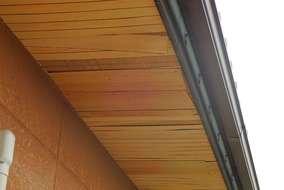 軒天井の剥がれ