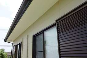 軒天井の貼り替え