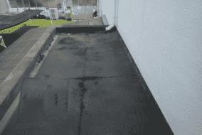 (施工前)  下地処理施工     【樹脂モルタル】