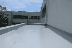 (施工後)  ウレタン塗膜防水   【X-2工法】