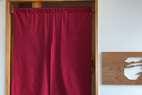 お手洗い入口の暖簾