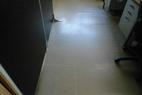 貼ってある床がぷくぷくして浮いてきてるので張替たい、とのご依頼です。