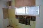 キッチン解体終わりました。