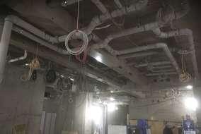 衛生設備排水管配管工事