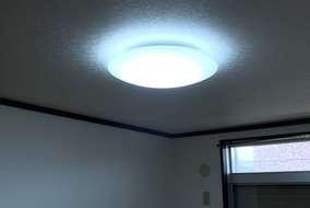 照明はスイッチ式 リモコンでも使える LEDに変更
