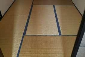 メインの部屋の 既存の畳