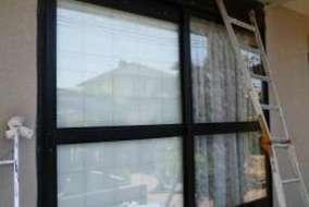 ブラインドシャッターの解体・撤去後の画像