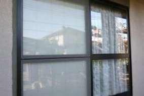 ブラインドシャッターの壁仕上げ後の画像
