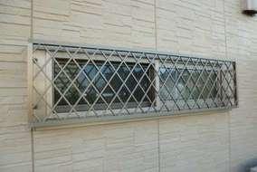 四方枠クロス面格子の施工後の画像