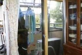 リビング 掃出窓のMOKUサッシの施工後の画像