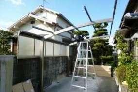 カムフィー 屋根の組立の画像です。