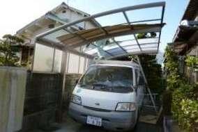 カムフィー 屋根材の組込の画像です。