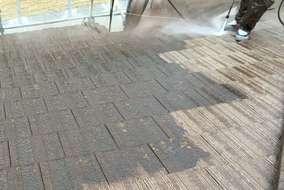 屋根 洗浄工事