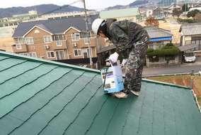 屋根 塗装工事