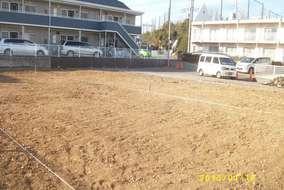 更地になりました。 畑じゃないですよ、新築予定地です