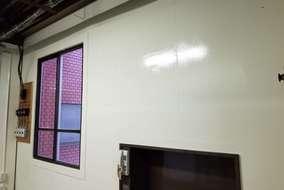 既存壁側は全て塗装にて仕上げました。