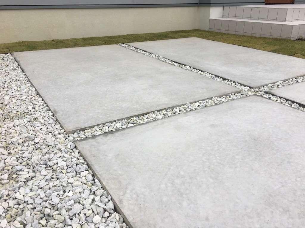 コンクリートとモルタルの違い コンクリート 駐車場 | 浜松市周辺で外構工事や駐車場工事のことなら板屋建設